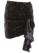 In The Mood For Love Emely Mini Skirt - BLACK (Black)