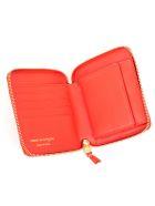 Comme des Garçons Wallet Wallet Medium Classic Leather Line - Orange