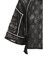 Gaelle Bonheur Patchwork Blouse - Nero bianco