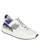 M.O.A. master of arts Logo Print Sneakers - White/Multicolor
