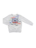 Kenzo Tiger Jb 7 Sweatshirt - Grigio
