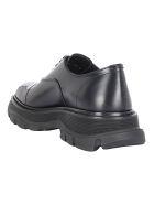 Alexander McQueen Lace Up Shoes - Black/black