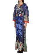 Etro Printed Dress - Blue