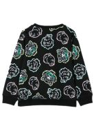 Kenzo Black Cotton Sweatshirt - Nero
