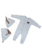 Burberry Core Jump Suit - LIGHT BLUE