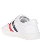 Moncler Stripe Detail Sneakers - White