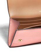Burberry Logo Detail Continental Wallet - Rosa