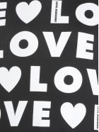Love Moschino Love Sweatshirt - LOGO W/BLACK