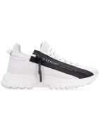 Givenchy Spectre Logo Detail Leather Sneakers - White