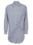 Salvatore Ferragamo Shirt - Bianco blu