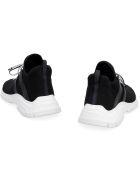 Prada Knit Low-top Sneakers - black