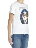 RE/DONE 'i Just Want Pizza' T-shirt - White