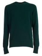 Drumohr Sweater Crew Neck Geelong - Verdone