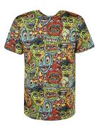 Moschino Face Print T-shirt - multicolored