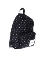 Calvin Klein Black & White Logo Nylon Backpack - Black/white