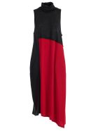 Y's Dress W/s High Neck - Red