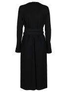 Jil Sander Black Wool Dress - Black