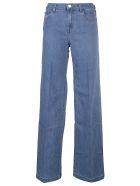 J Brand Evytte Mid Rise Wide Leg Jeans - Blessed