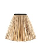 Givenchy Pleated Skirt - Gold