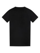 Givenchy Black T-shirt For Kids With Logo - Black