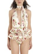 Zimmermann 'honour Halter Tie' Swimsuits - Multicolor