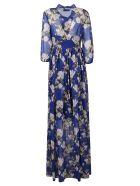 Giuseppe di Morabito Floral Print Dress - Blue