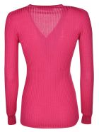 Versace Fitted Sweater - Pink