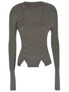 Jacquemus Slim-fit Buttoned Top - Grey