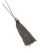 Saint Laurent Tassel Necklace - Metal