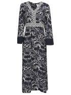 Max Mara The Cube Long Length Printed Dress - Panna/Blue