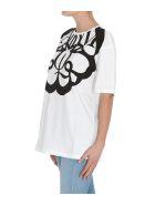 Alexander McQueen Logo T-shirt - Bianco