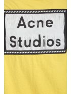Acne Studios Elice T-shirt In Yellow Cotton - yellow