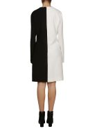 Givenchy Two-tone Dress - White black