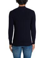Tagliatore Stand Collar Sweater - Blu
