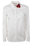 RED Valentino Popeline Shirt - Optic white