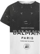 Balmain Paris Kids T-shirt - Multicolor