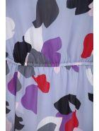 Emporio Armani Long Chiffon Dress - Viola