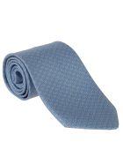 Salvatore Ferragamo Patterned Tie - Light blue