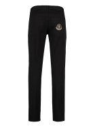 Moncler Stretch Cotton Trousers - black