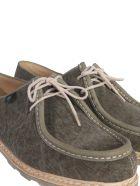 Paraboot Michael Toile/marche Low Shoes - MARRONE