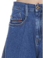 Diesel 'd-izzier' Jeans - Light blue