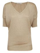 Charlott Slim Fit Top - Oro