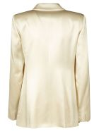 Max Mara Pianoforte Double-breasted Blazer - White