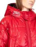 Cheap Monday Sleeping Down Jacket Sender - red