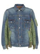 Sacai Denim Jacket - Blue