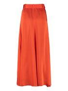 self-portrait Asymmetric Midi-skirt - Orange