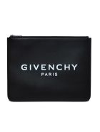 Givenchy Logo Zipped Pouch - Black