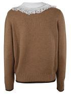 Miu Miu Knitted Sweater - Cammello