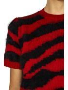 Dondup Red & Black Wool Jumper - Red/black
