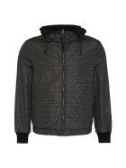 Salvatore Ferragamo Hooded Reversible Nylon Jacket - black